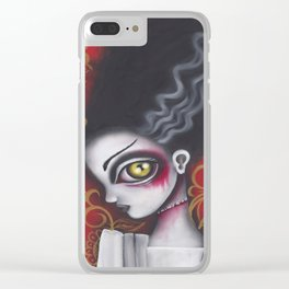 Waiting for Frankenstein Clear iPhone Case