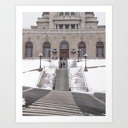 Montréal in November (11 of 11) Art Print