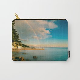 Rainbow in the gulf of Trieste Carry-All Pouch