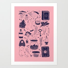 Witchy Art Print