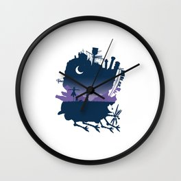 Sophie and Calcifer Wall Clock
