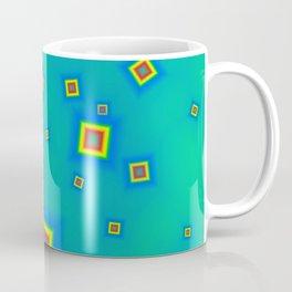 Pattern of disorganized multicolored paintings Coffee Mug