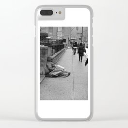 Give Me Your Poor & Tired (Pt 28 - NYC) Clear iPhone Case
