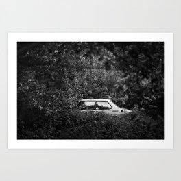 Overgrown Art Print