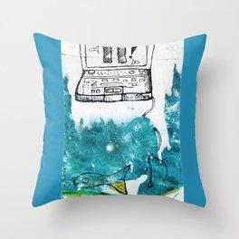 Emotion Ocean 4 Throw Pillow