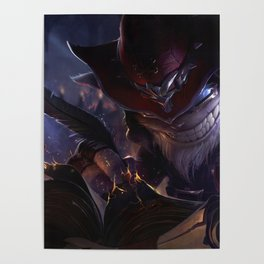 Master Arcanist Ziggs League Of Legends Poster