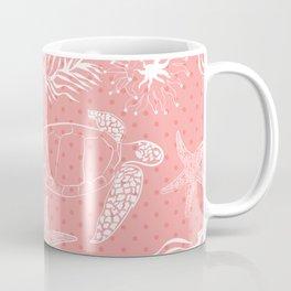 Coral sea #sea #coral #salmon #water Coffee Mug