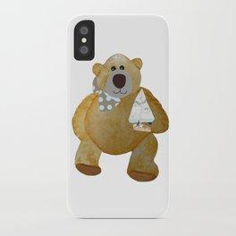 Sailboat Bear iPhone Case