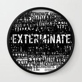 Exterminate 1 Wall Clock