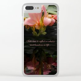 Life Reflections by Teresa Thompson Clear iPhone Case