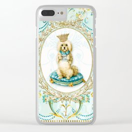 It's a dogs life Clear iPhone Case