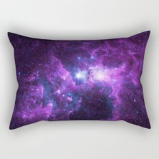 Purple Galaxy Rectangular Pillow