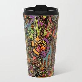 Psychedelic Desert Travel Mug