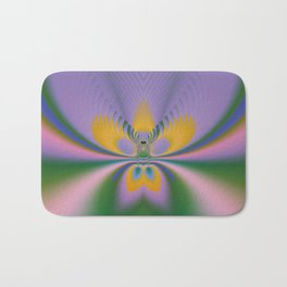 Purple Lotus Bath Mat