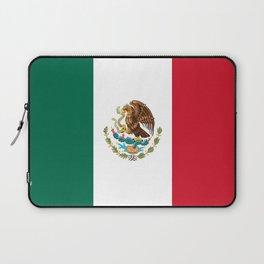 Flag of mexico- mexico,mexico city,mexicano,mexicana,latine,peso,spain,Guadalajara,Monterrey Laptop Sleeve