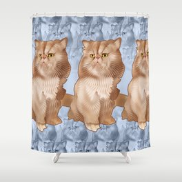 Touille Shower Curtain