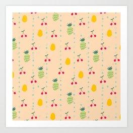 Fruity Spring Art Print