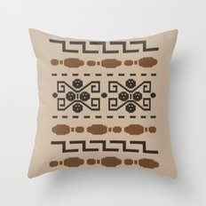The Dude's Duds Throw Pillow