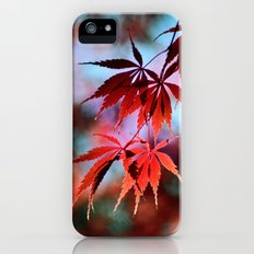 Japanese Red Maple Slim Case iPhone (5, 5s)