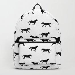 Horse Pattern | Horseback Riding Pony Stallion Backpack