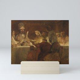 The Conspiracy of the Batavians under Claudius Civilis Mini Art Print