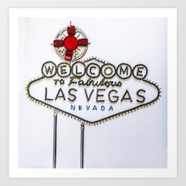 035: Las Vegas Art Print