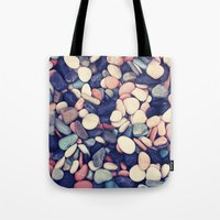 rocky Tote Bags featuring Rocky by farsidian