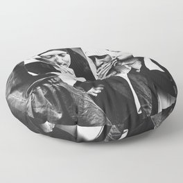 Smoking Nuns Floor Pillow