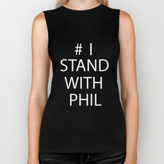Stand With Phil Biker Tank