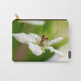 Macro Korean Sun Pear Blossom 1 Carry-All Pouch