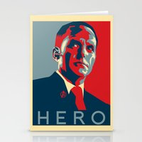 hero Stationery Cards featuring Hero by Skylofts Merch
