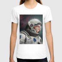 interstellar T-shirts featuring Interstellar by San Fernandez