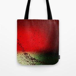 Black Flicks of Paint Tote Bag