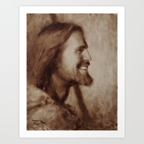 My Savior, My Friend Art Print