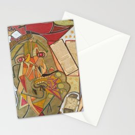 UN PICASSO MIO Stationery Cards