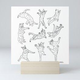 Flying Cats Mini Art Print