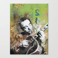 django Canvas Prints featuring Django by MATEO