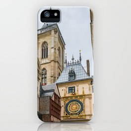 Gros Horloge iPhone Case