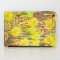 polka dot iPad Cases featuring Polka Dot Jellyfish by mark jones