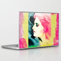 silent Laptop & iPad Skins featuring Silent Love by famenxt