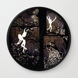 The Harvest of Morning Dew Wall Clock