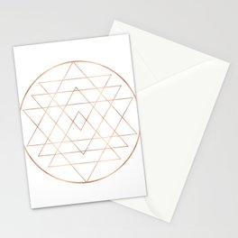 Dream All, All Dream - Rose Gold Copper Stationery Cards