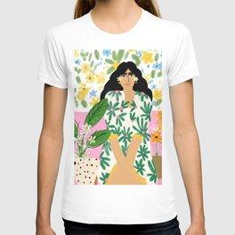 Floral fever T-shirt
