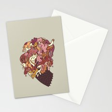 Painted Trojan Stationery Cards