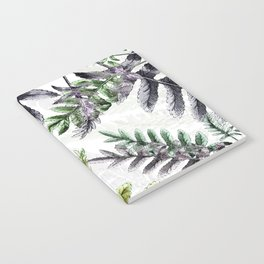 Vintage Ferns Notebook