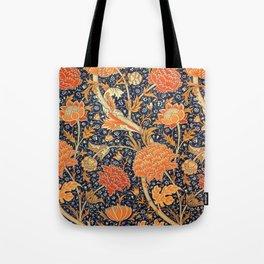 William Morris Cray Floral Art Nouveau Pattern Tote Bag