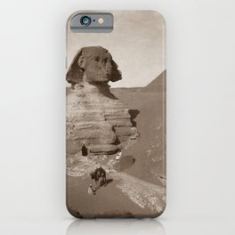 Great Sphinx Of Giza Egypt iPhone Case