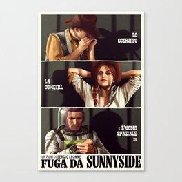 Fuga da Sunnyside Canvas Print
