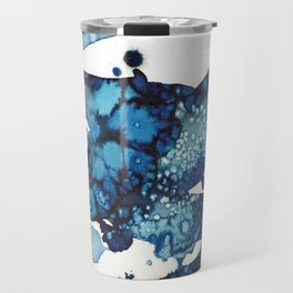 A beautiful spring morning on the beach. Travel Mug