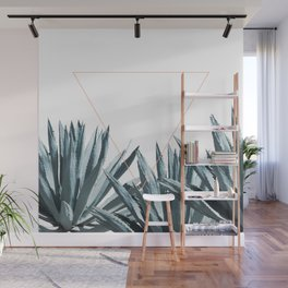 Agave Triangle Wall Mural